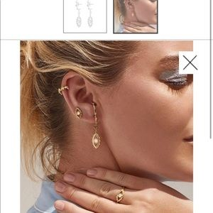 Luvaj evil eye earrings